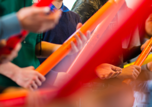 Workshop Boomwhackers TAPE Nederland